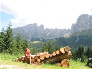 Große Pass-tour Sella runde